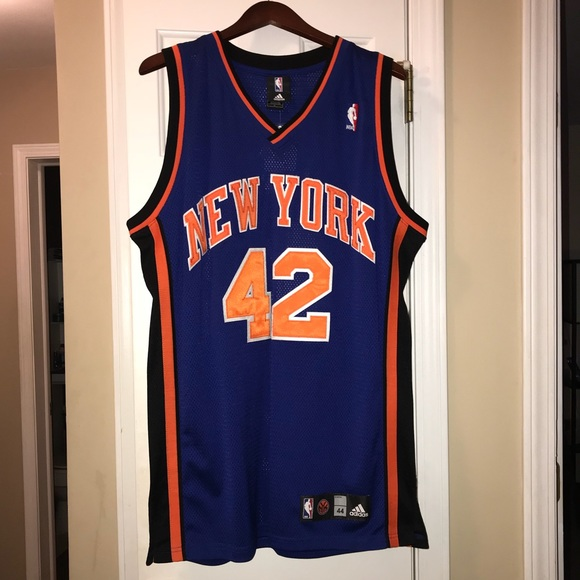 new style 8ea2f 50cd8 Authentic New York Knicks David Lee Jersey NWT